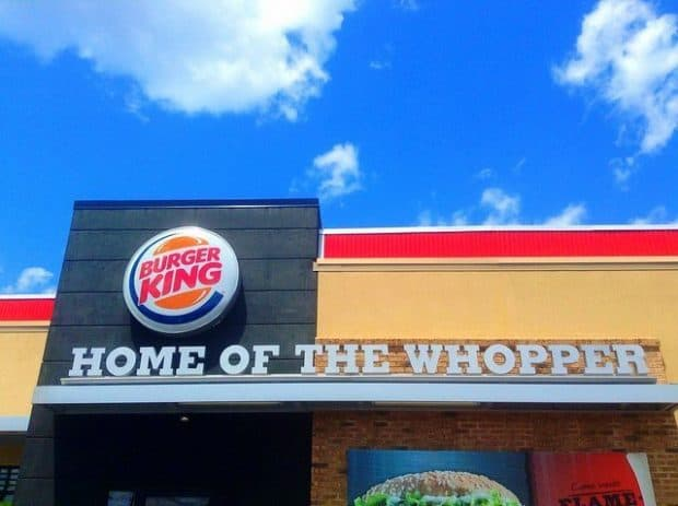 how much to buy a burger king franchise