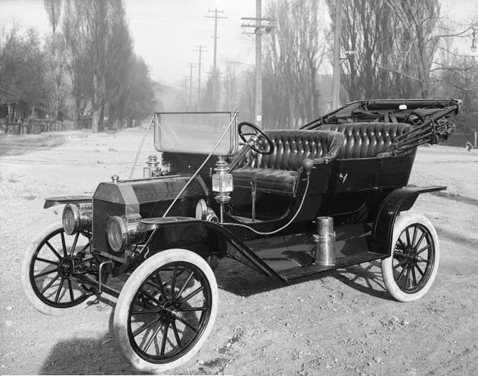 image of the model t