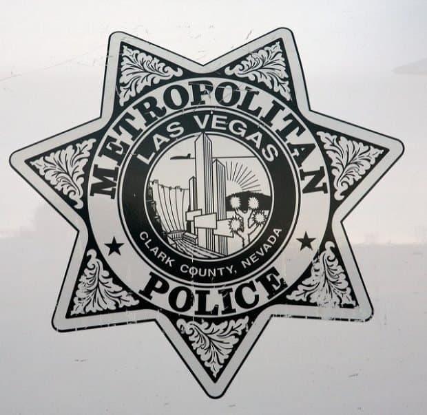 badge las vegas metropolitan police