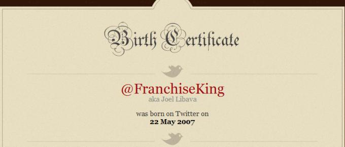 franchises on twitter @FranchiseKing