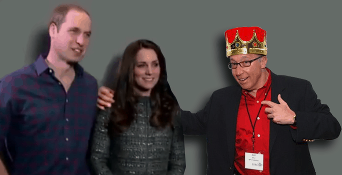 the franchise king with duke and duchess of york