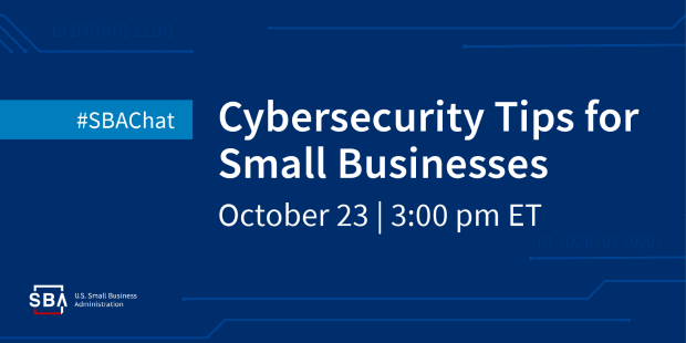 cybercrime small business SBA chat