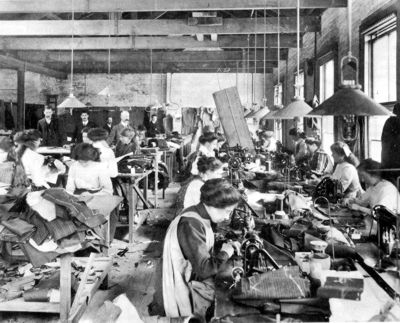 garment workers 1880's