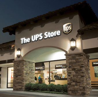 The UPS Store owing one