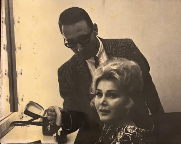 Zsa Zsa Gabor and Jerry Libava