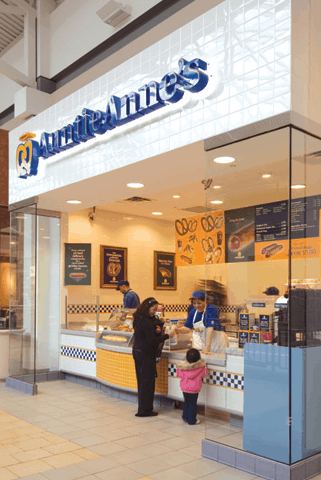 franchise opportunities auntie anne's