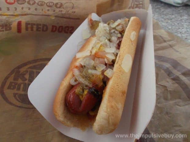 burger king adds hot dogs to its menu