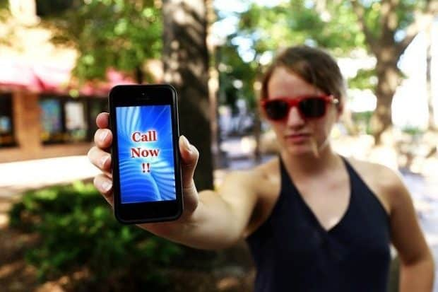 phone calls to franchisees