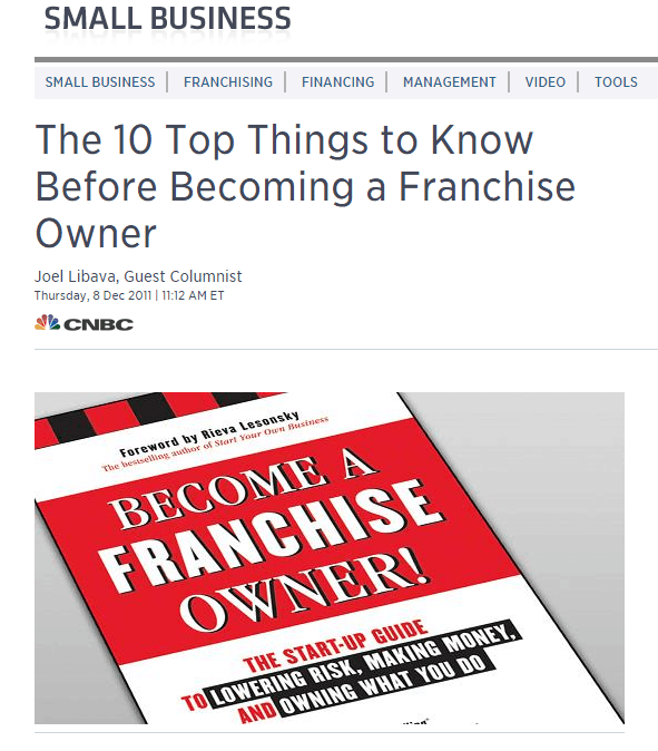 Franchise Ownership | Become A Franchise Owner!