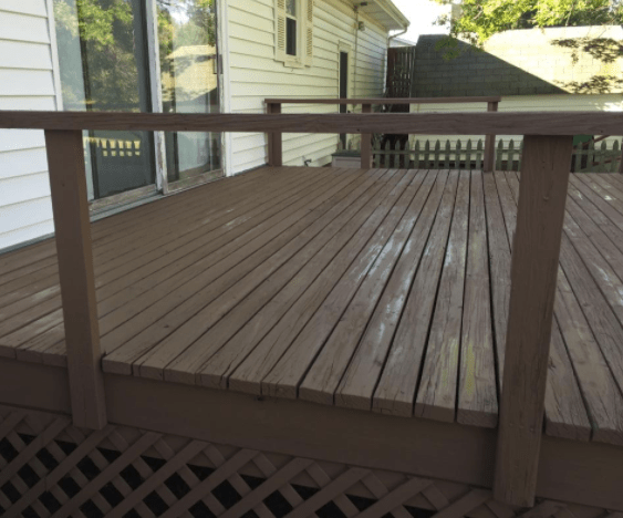 finished deck from deck rescue franchise
