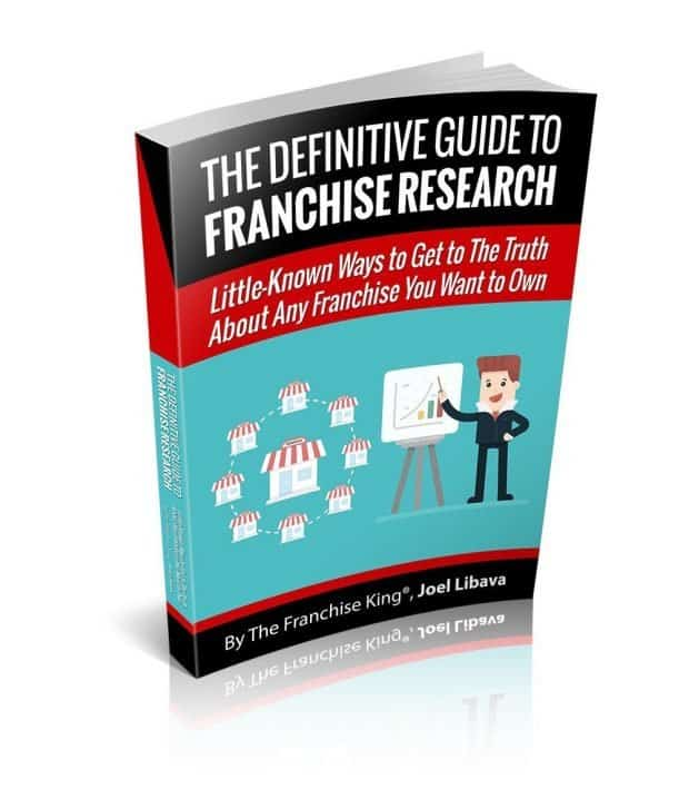 Get Help From The Franchise King's franchise research eBook