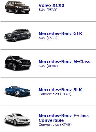upscale cars