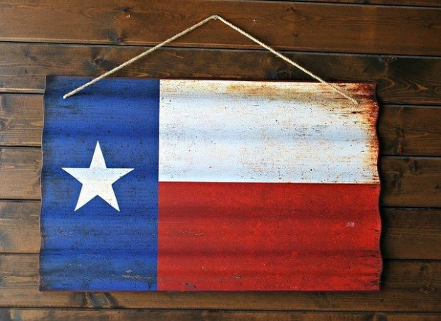 image of texas flag