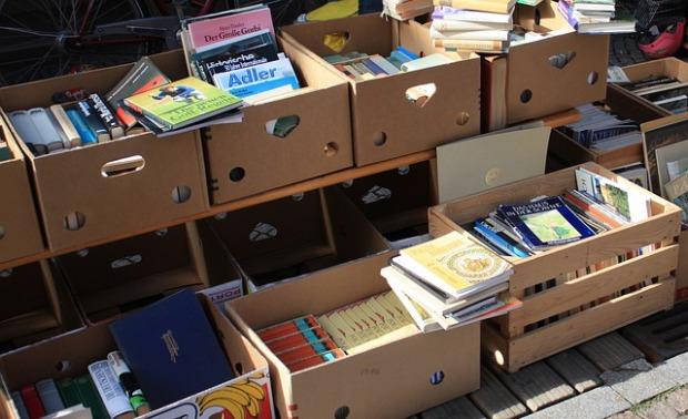 garage sales books