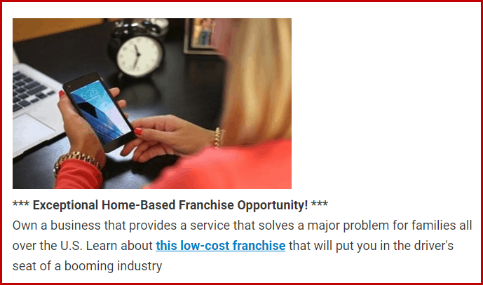 home-based franchises