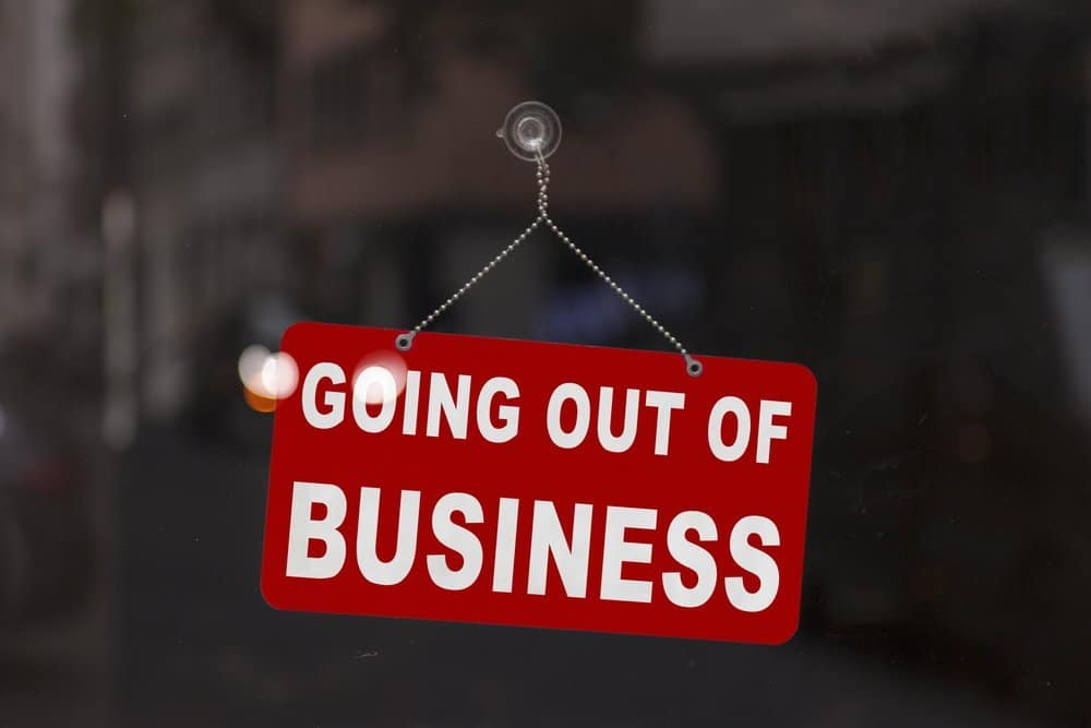 The Top Two Reasons Franchisees Go Out Of Business