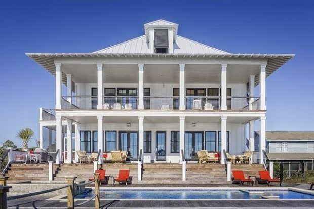 millionaire's house