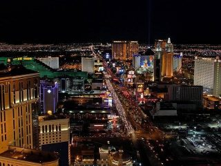 the strip in vegas
