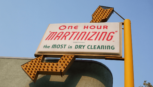 dry cleaning biz