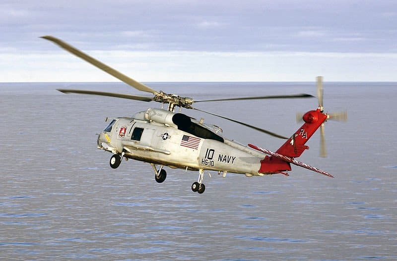 anti-submarine us navy chopper