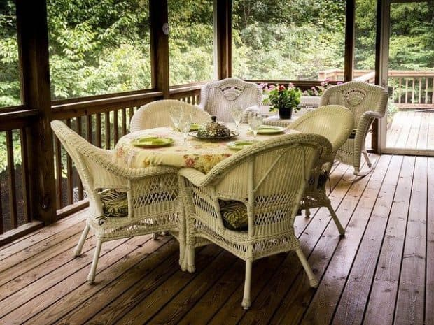 beautiful wood deck rescue