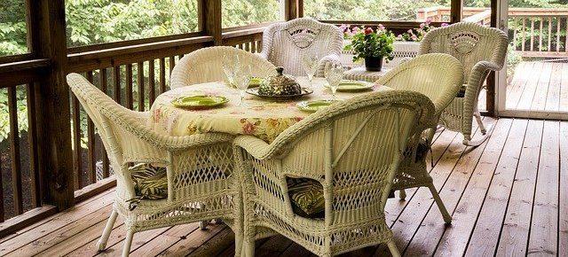 beautiful wood deck