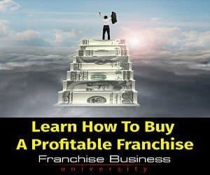 how to buy a money making franchise