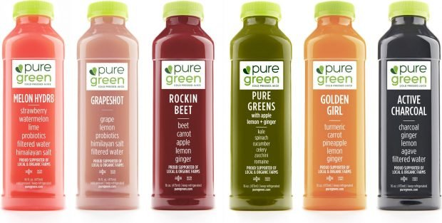 pure green franchise products