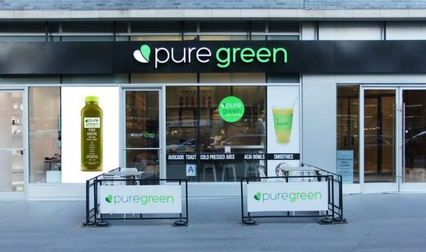 pure green a healthy fast food franchise opportunity