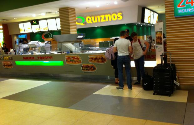 quiznos franchise locations