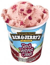 Ben Jerrys Red Velvet Cake