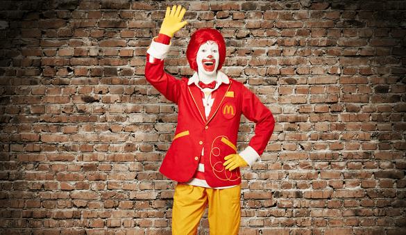 #RonaldMcDonald