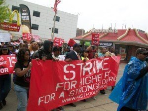 will fast food workers strike get them $15 an hour?