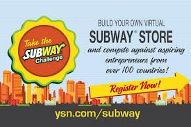subway contest logo