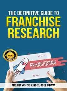 use the franchise king's book to research franchises