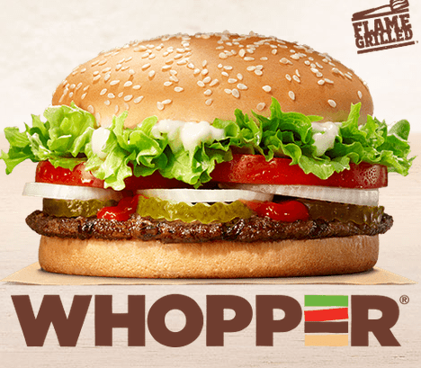 burger king franchise whopper